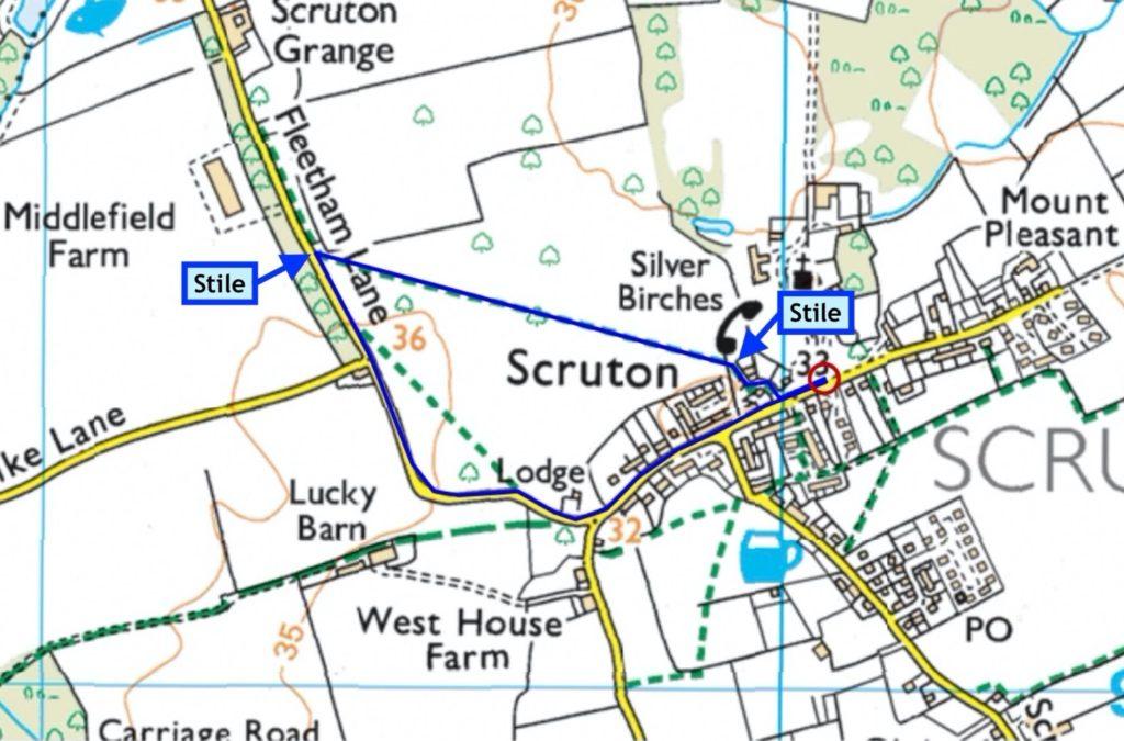 Scruton walk #1 - Parklands